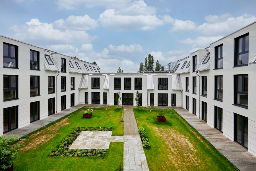 Residential Quater Mariendorfer Damm, Berlin